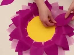 Kids Lets Make Paper Flowers FUN EASY FLOWER