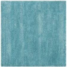Safavieh Milan Shag Aqua Blue 10 ft x 10 ft Square Area Rug
