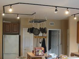track lighting in kitchen delighful kitchen the track lighting is
