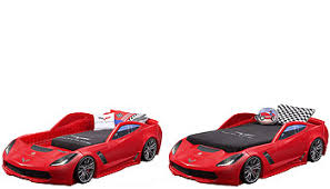 Step2 Corvette Z06 Toddler to Twin Bed Toys