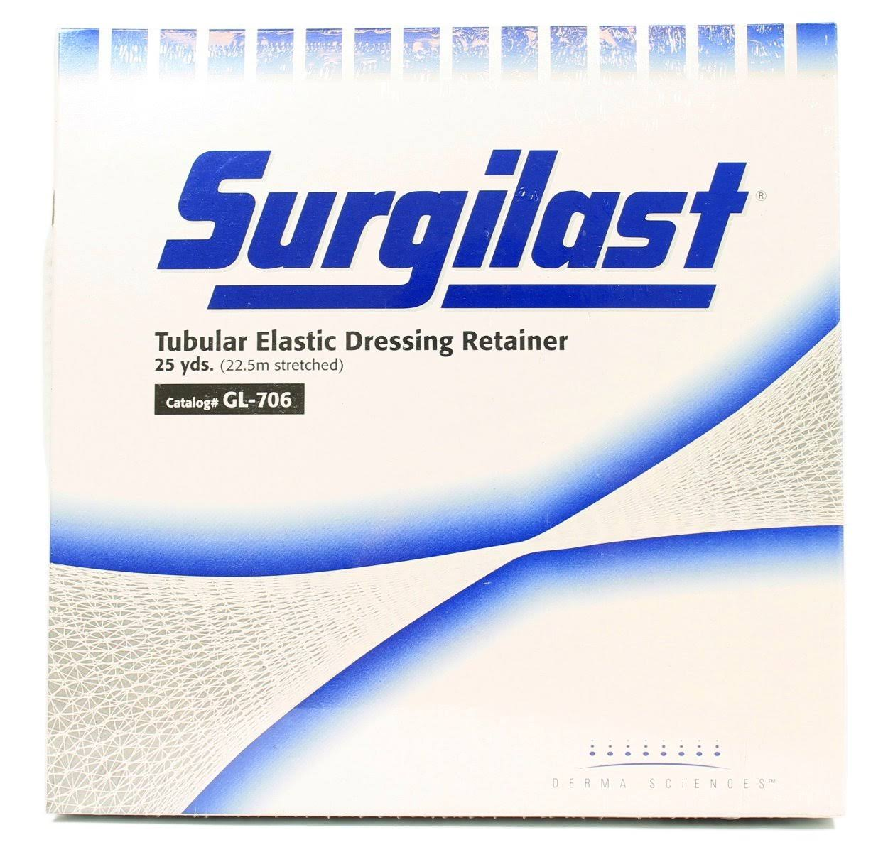 Derma Sciences Surgilast Tubular Elastic Dressing Retainer - Size 5, 25 yds