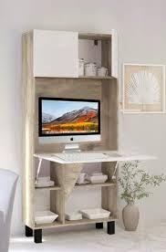 bm computerarbeitsplatz schreibtisch funktionales heimbüro verstecktes heimbüro platzsparender laptop computertisch klappschreibtisch light oak