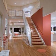 Floating Staircase In Contemporary Foyer