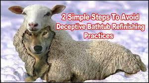 Acrylic Bathtub Liners Vs Refinishing by Bathtub Refinishing Deceptive Practices U0026 Scams Youtube