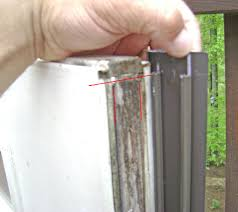 Peachtree Patio Door Glass Replacement by How To Replace A Worn Out Door Bottom Weatherstrip