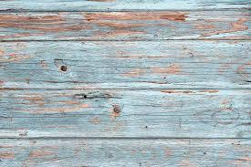 Light Blue Vintage Wooden Background