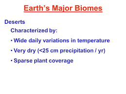 Earth Floor Biomes Desert by Earth U0027s Major Biomes Type Of Biome Controlled By Temperature And
