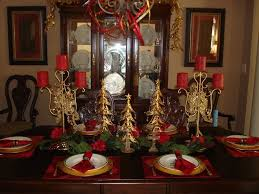decorating dining room table christmas ideas affordable ambience