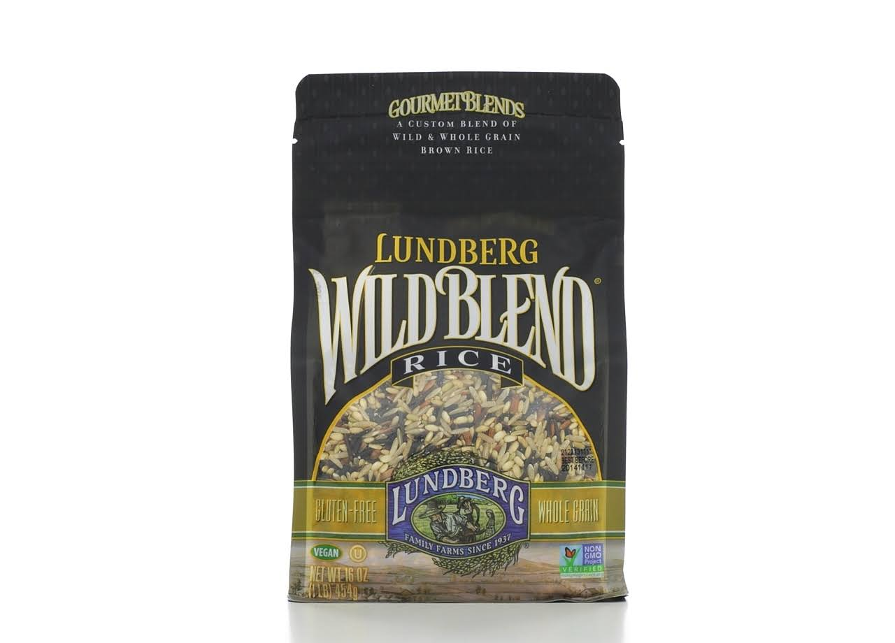 Lundberg Wild Blend Rice - 16oz, Pack of 6