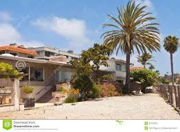 100 Point Loma Houses Residential Near The Beach California Stock Image