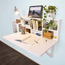 bureau pliable sobuy fwt07 w folding wooden wall mounted drop leaf table desk