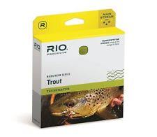 rio muskie fly fishing line leaders tippets with sink tip ebay