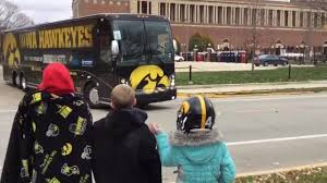 100 Hawkeye Truck Equipment Iowa S Buses And Pull Out Of Memorial Stadium