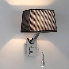 indoor mechanical arm wall l bedside reading light
