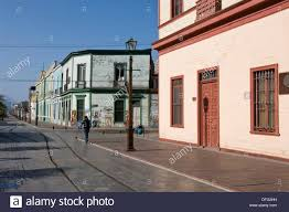 100 Houses In Chile Iquique City Baquedano Street Traditional Houses Stock