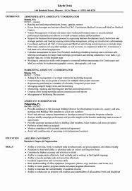 Experiential Resume Sample Best Assistant Coordinator Samples Of