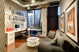 Design Ideas Wonderful Blend Of Textures In The Industrial Office Space