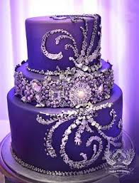 Edible Bling Wedding Cakes Photo 1