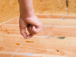 Preparing Subfloor For Tile Youtube by How To Lay A Subfloor How Tos Diy