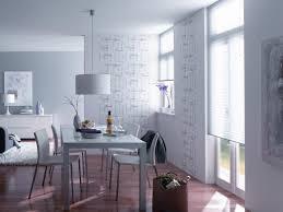 esszimmer in weiß und grau esstisch wandgestaltung