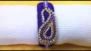 How To Make Silk Thread Stone Bangles At Home