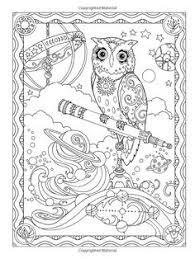 Owl Owls Coloring Pages Colouring Adult Detailed Advanced Printable Line Art Black And White