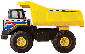 Amazon.com: Tonka Retro Classic Steel Mighty Dump Truck (the Color ...