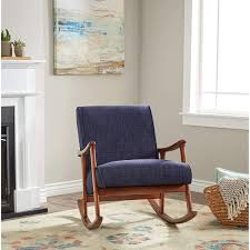 Amazon.com: Wooden Rocking Chair Provides Style And Function. Padded ... Rocker Recliners Dorel Living Padded Dual Massage Recliner Welliver Rocking Chair Layla 3 Pc Black Faux Leather Room Recling Sofa Set With Dropdown Tea Table And Swivel Myrna Details About Indoor Wooden White Baby Nursery Seat Fniture In A Stock Photo Image Of Relax Comfort Modern Design Lounge Fabric Upholstery And Porch Balcony Deck Outdoor Garden Giantex Mid Century Retro Upholstered Relax Gray New Hw58298 Zoe Tufted Cream Rockin Roundup Yliving Blog