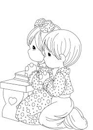13 Precious Moments Praying Coloring Pages 7321 Via Uk