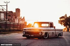 100 C10 Chevy Truck Squared Up A Dumped Down Speedhunters