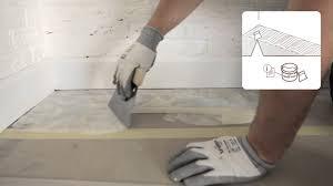 how to install a step vinyl floor glued installation