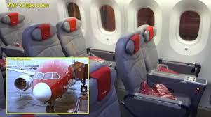 air siege plus boeing 787 8 dreamliner premium class stockholm