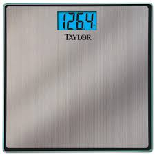 taylor bathroom scales personal care appliances the home depot