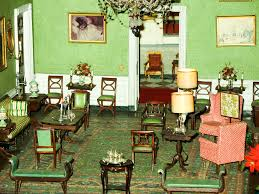 Miniature Green Room Of The White House Photograph By Art Spectrum