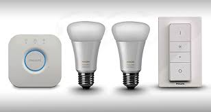 philips hue white ambience the domotic device controlled by an app