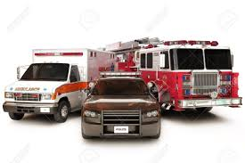 100 First Fire Truck Responder Vehicles Ambulance Police And Truck On
