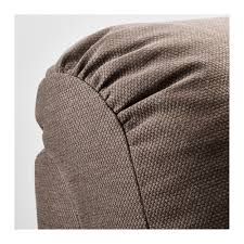 tidafors three seat sofa dansbo medium brown ikea