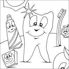 Dental Coloring Sheets Dentistry For Children And Young Adults