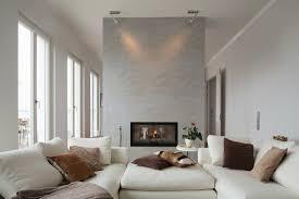 modernes wohnzimmer mit weißem sofa bild kaufen