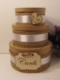 3 Tier Rustic Wedding Card Box By Breezemountain8 7299