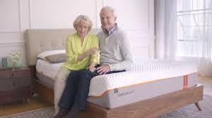 Temperpedic Adjustable Bed by Tempur Pedic Adjustable Bases Youtube