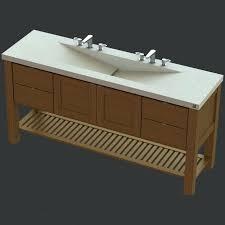 Double Faucet Trough Sink Vanity vanities trough sink and vanity trough sink vanity top trough