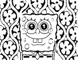 Best Sponge Bob Coloring Sheets Nice Colorings Design Gallery