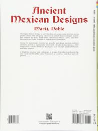 Ancient Mexican Designs Dover Design Coloring Books Marty Noble 9780486436333 Amazon