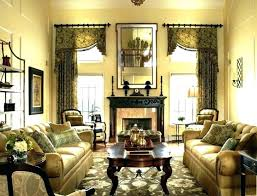 Medium Size Of Formal Dining Room Drapes Curtains Floral For Living Treatment Bay Window Treatments Curt