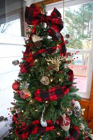 Buffalo Check Plaid Christmas Tree Weekend Craft