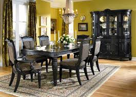 black dining room sets black dining table and chairs modern dining