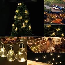 3 Pack Christmas Glass Ball LED Garden Light Wireless Gazing Lighting Crackle Globe Mood Lights Night Lamp Crystal Ball Lamps For Garden Patio Holiday