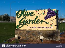 Olive Garden sign USA Stock Royalty Free Image