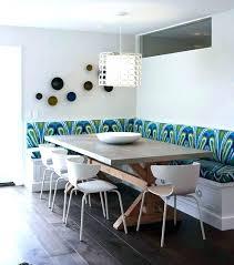 L Shaped Dining Room Table Bench Designs In Regarding Decor Boat Walnut